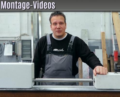 montagevideo sicherungsstangen edelstahl
