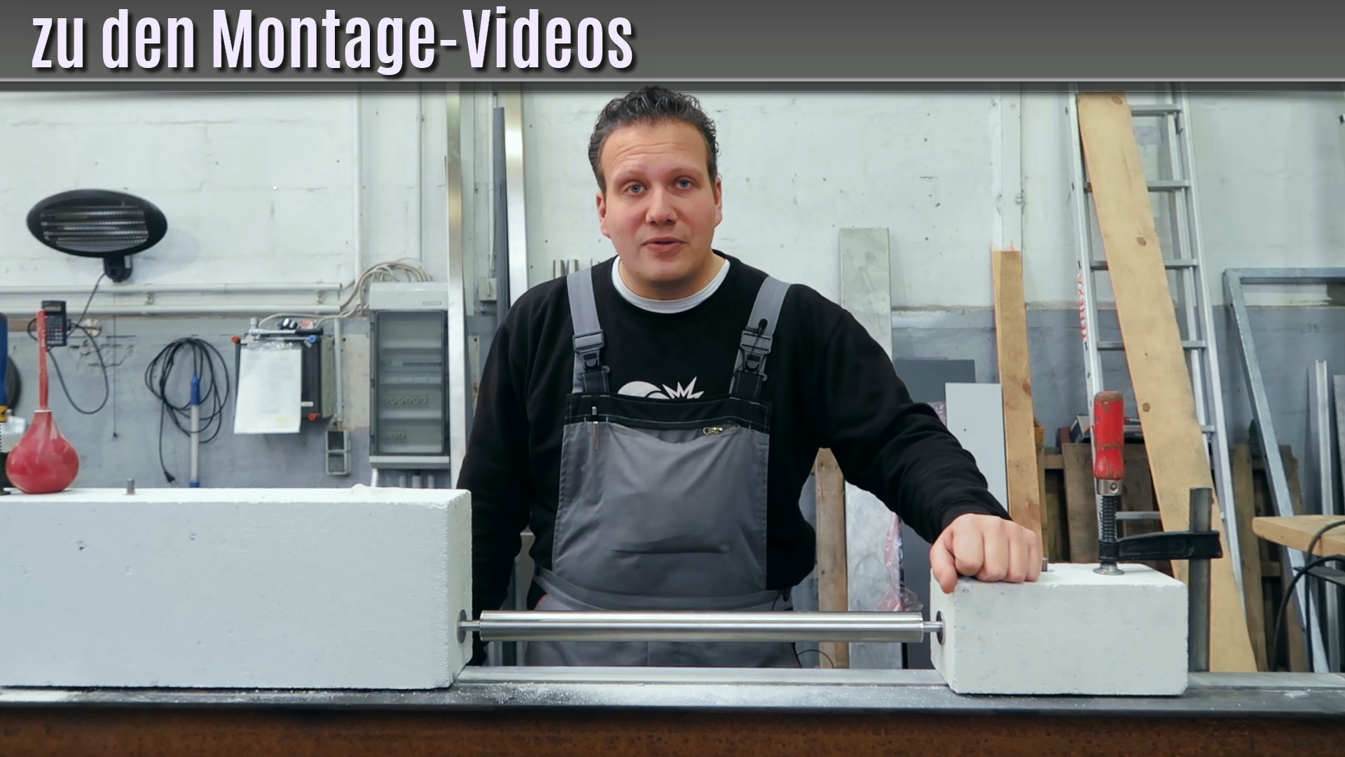 Kellerfenster einbruchschutz montagevideo outtakes for Kellerfenster einbruchschutz